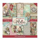 Stamperia - Double-Sided 12 x 12 Inch Paper Pack - Alice